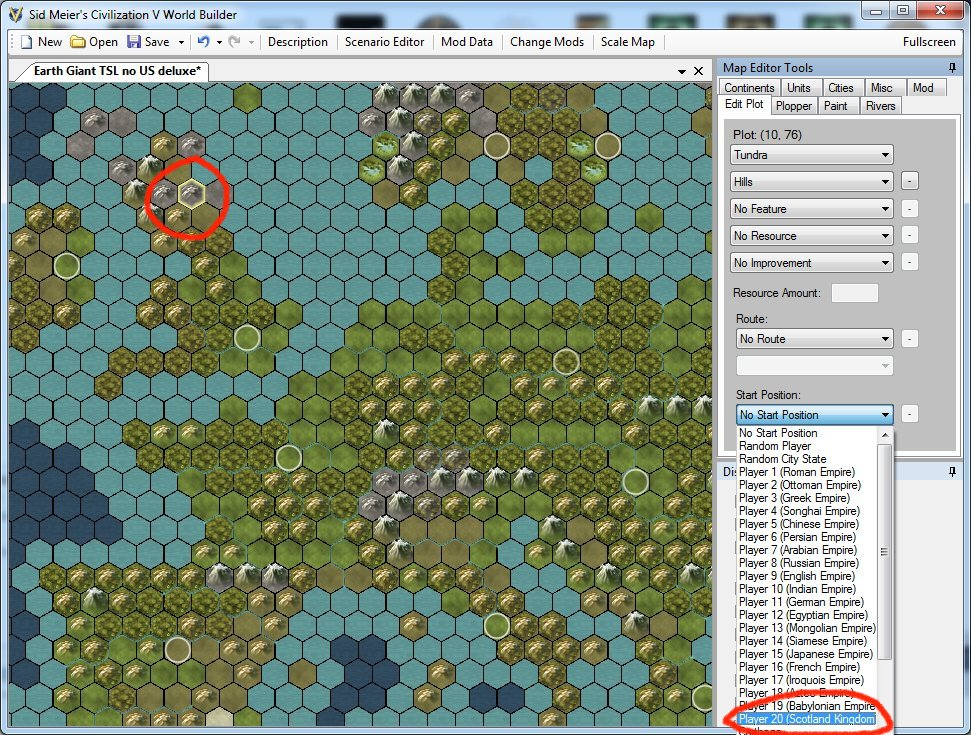 HOW TO addremove custom civs and city states from an existing – Civ 5 World Map