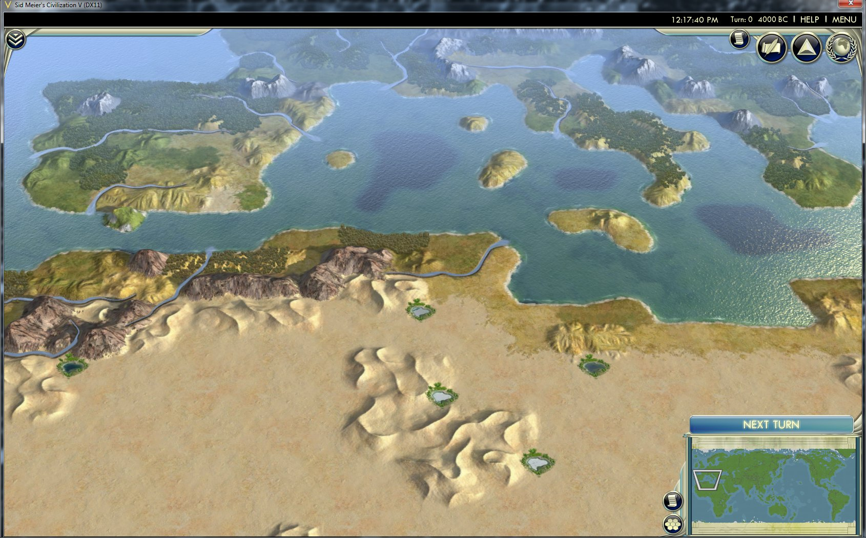 Yet Another Giant Earth Map – Civ 5 World Map