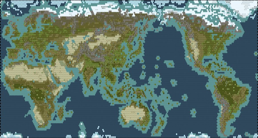 {TSL Yet not Another Earth Maps Pack – Civ 5 World Map